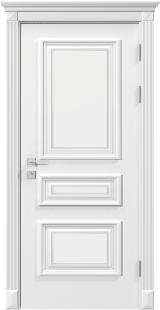 ROSSI глухая - Межкомнатные двери, Rodos - двери белые межкомнатные Киев