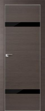 VA03 - Межкомнатные двери, Двери на складе Eco Veneer Aluminium