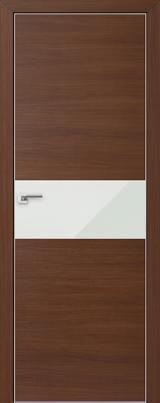 VA04 - Межкомнатные двери, Двери на складе Eco Veneer Aluminium