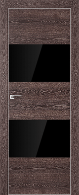 VA10 - Межкомнатные двери, Двери на складе Eco Veneer Aluminium