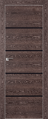 VA20 - Межкомнатные двери, Двери на складе Eco Veneer Aluminium