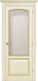 Верона де Канте со стеклом - Межкомнатные двери, Халес - двери шпонированные Киев