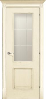 Версаль со стеклом - Межкомнатные двери, Халес - двери шпонированные Киев