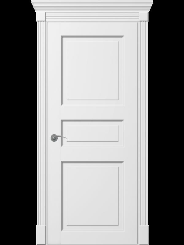 Ніцца ПГ - Міжкімнатні двері, Пофарбовані двері