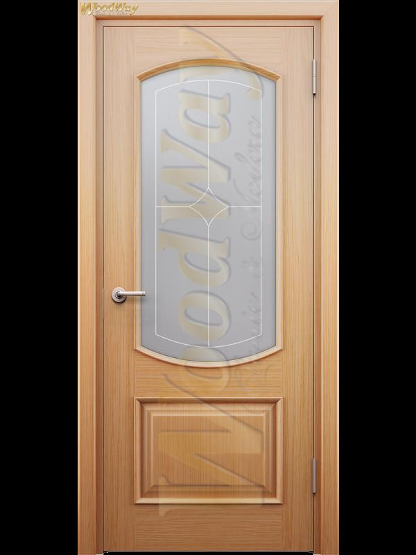 Ребека 3 - Міжкімнатні двері, Шпоновані двері
