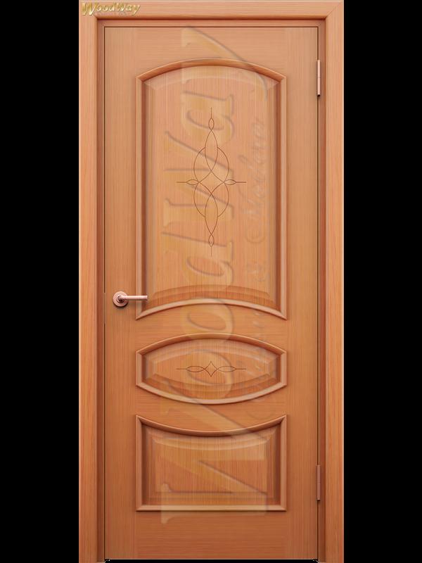 Корсика 1 - Міжкімнатні двері, Шпоновані двері