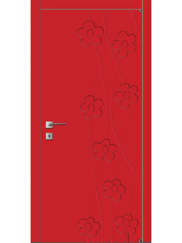 FL5 - Міжкімнатні двері, Пофарбовані двері