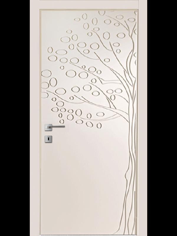 FL8 - Міжкімнатні двері, Пофарбовані двері