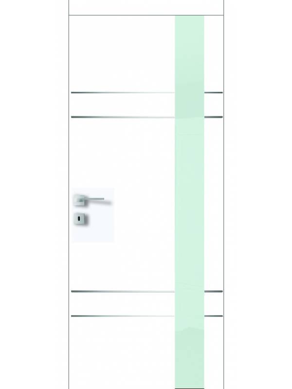 FT19.SM - Міжкімнатні двері, Білі двері