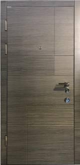 Conex  мод. 107 Цвет Венге серый горизонт - Вхідні двері, Двері внутрішні (в квартиру)