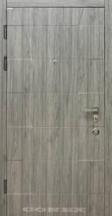 Conex Модель 46 дуб английский - Вхідні двері, Двері внутрішні (в квартиру)