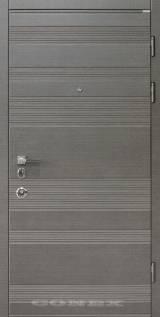 Conex мод 55 венге серый горизонт - Вхідні двері, Двері внутрішні (в квартиру)