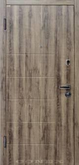 Conex мод 58 дуб орион, - Вхідні двері, Двері внутрішні (в квартиру)