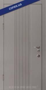 Модель 61. МДФ. Элегантный серый - Вхідні двері