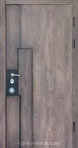 Conex Модель 103 спил дерева коньячный - Вхідні двері, Двері внутрішні (в квартиру)