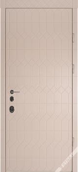 Антрацит 3D Престиж - Вхідні двері, Двері внутрішні (в квартиру)