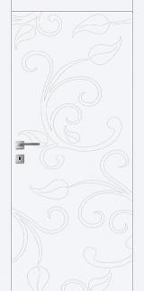 FL12 - Міжкімнатні двері, Білі двері