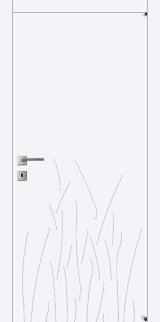 FL13 - Міжкімнатні двері, Білі двері