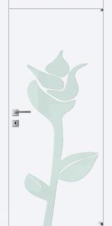 FL16 - Міжкімнатні двері, Білі двері