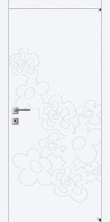 FL4 - Міжкімнатні двері, Білі двері