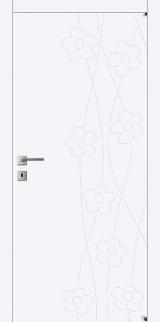 FL5 - Міжкімнатні двері, Білі двері