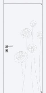 FL6 - Міжкімнатні двері, Білі двері