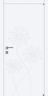 FL7 - Міжкімнатні двері, Білі двері