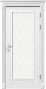 Anti зі склом - Міжкімнатні двері, Білі двері