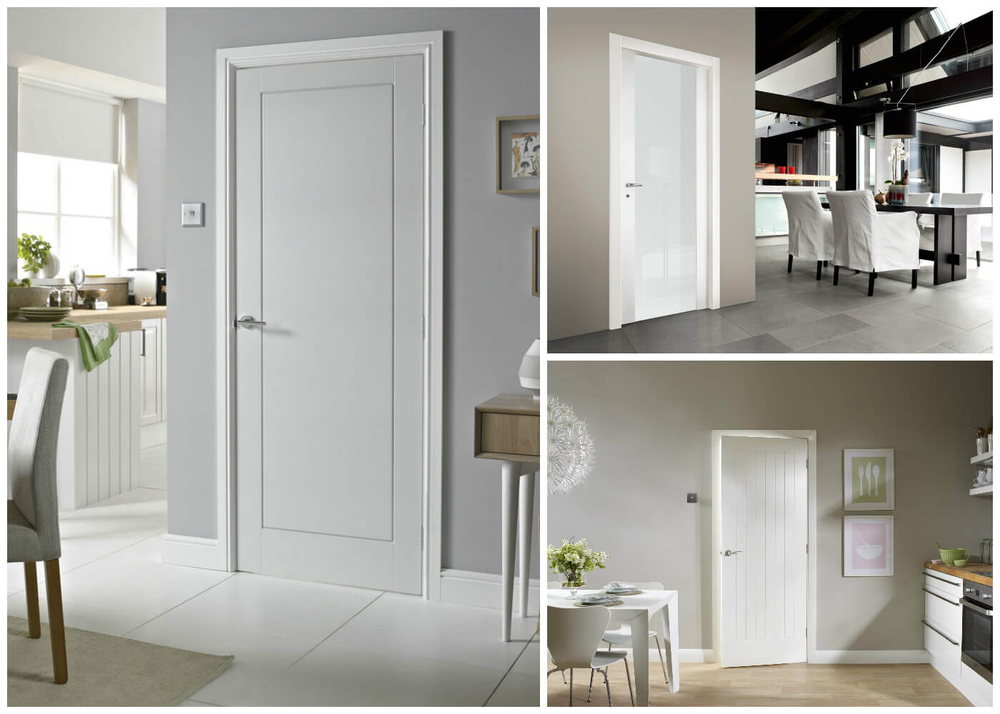міжкімнатні двері білі